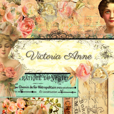 Victoria Anne Digital Collection - Paper Pack 1