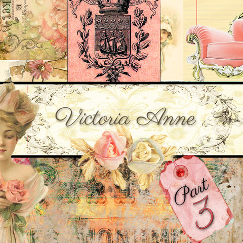 Victoria Anne Digital Collection - Paper Pack 3