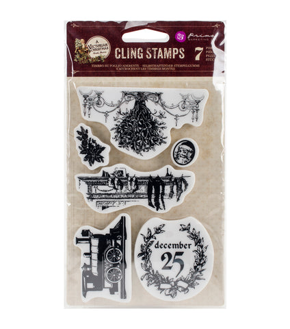 Prima Marketing A Victorian Christmas Stamp