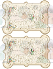 Victorian Splendor Card Kit - Digital Kit