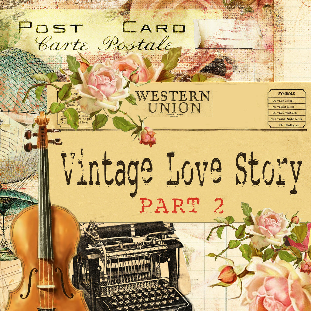 vintage love story part 2 digital bundle pack digital journal ki dreamz etc. Black Bedroom Furniture Sets. Home Design Ideas