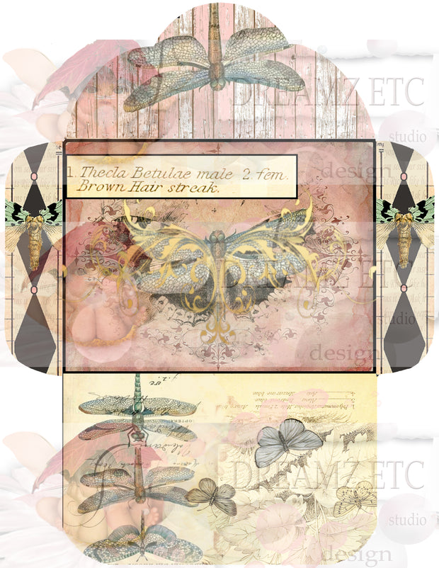 Winged Elements - Digital Journal Kit - Bundle Pack