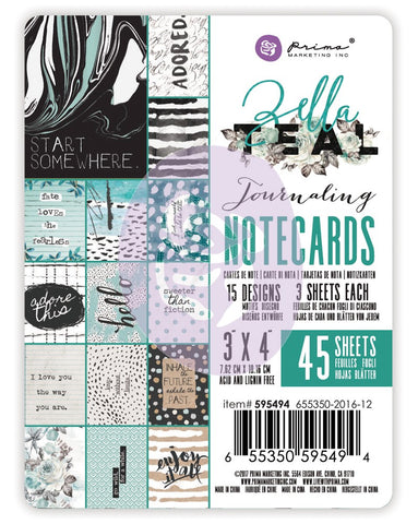 Zella Teal - 3x4 Journaling Cards