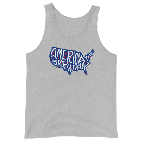America The Brewtiful Unisex Tank Top