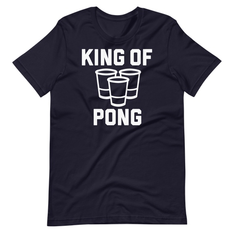 King Of Pong Short-Sleeve Unisex T-Shirt