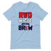 Red, White & Brew Short Sleeve (Design On Front)