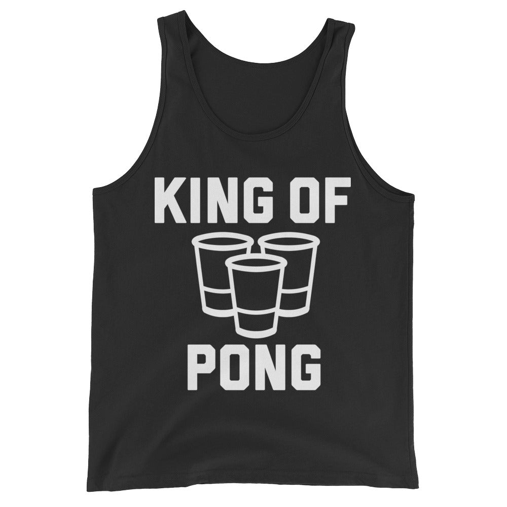 King of Pong Unisex Tank Top