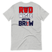 Red, White & Brew (Design On Back)