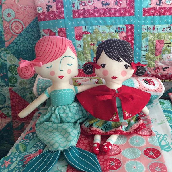 Coral Queen of the Sea and Lil Red Dolls