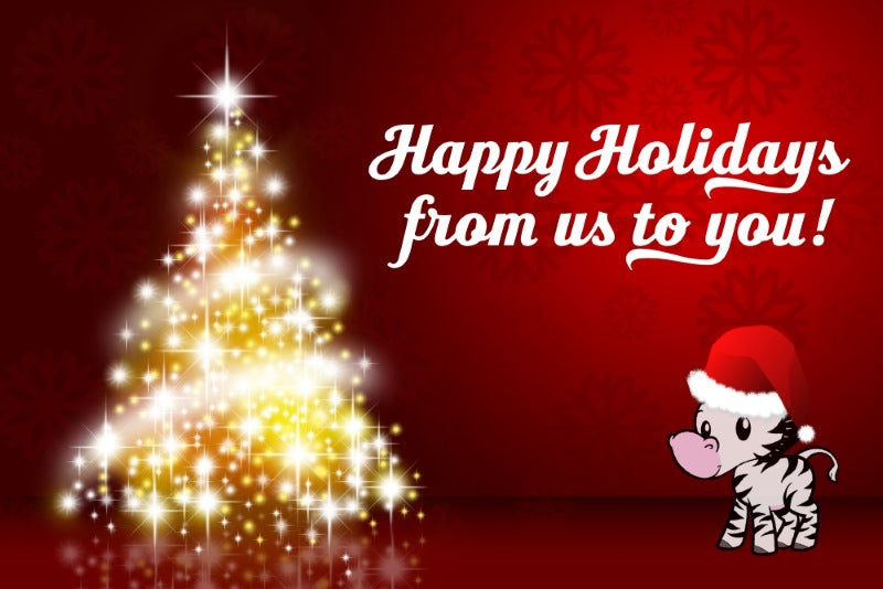 happy holidays from dinkydoo