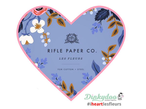 Les Fleurs fabric collection by Rifle Paper Co for Cotton and Steel