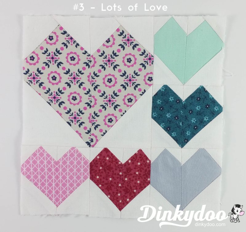 splendid sampler block 3 lots of love