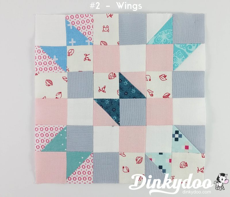 splendid sampler block 2 wings