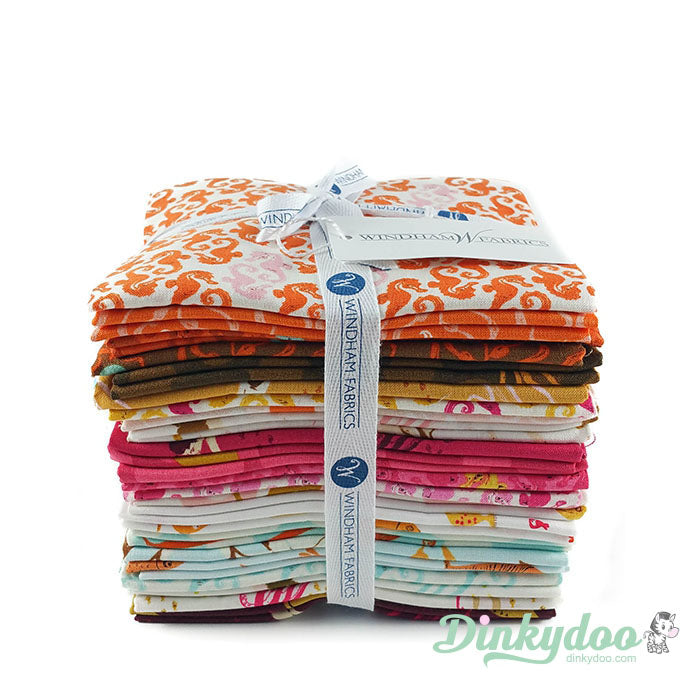 windham mendocino by heather ross fat quarter bundle