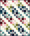 Nova Stolen Kisses Quilt Kit - Basic Grey (Pre-order: Apr 2019)