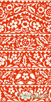Moonrise (Rayon) - Market Floral in Red 4073-015 - Alexia Abegg - Cotton + Steel