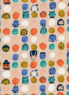 Lil Monsters Fat Quarter Bundle by Cotton + Steel
