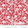 Christmas Morning - Winter Flower in Cranberry - Lella Boutique - Moda (Pre-order: July 2021)
