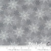 Home Sweet Holidays - Snowflake Swirl in Grey - Deb Strain - Moda (Pre-order: Aug 2021)