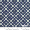 Sweet Tea - Lattice Vanilla Navy 5725-25 - Sweetwater - Moda