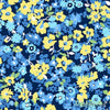 Only You - Packed Floral in Blue - Andover Fabrics