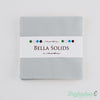 Bella Solids - Zen Grey Charm Pack - Moda