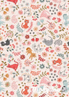 Purrfect Petals - Floral Cats on Warm Cream - Lewis & Irene