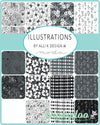 Illustrations - Mini Charm Pack - Alli K Designs - Moda (Pre-order: April 2021)