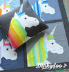 Lisa the Unicorn - Quilt Pattern - Elizabeth Hartman