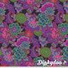 Kaffe Fassett Collective Fall 2021 - Cloisonne in Purple - Free Spirit (Pre-order: Oct 2021)