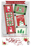 Merry Holidays Pattern by The Quilt Factory - Stacy Iest Hsu (Pre-order: July 2021)