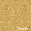 Joyful Traditions - Damask in Gold with Gold - Hoffman (Pre-order: July 2021)