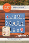 Airshow - Quilt Pattern (With Bonus Pillow Pattern!) - Latifah Saafir