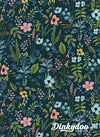 Amalfi - Herb Garden Navy - Rifle Paper Co - Cotton + Steel