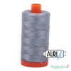 Aurifil Thread - Light Blue Grey (2610) - 50wt 1422 yd