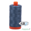 Aurifil Thread - Medium Blue Grey (1310) - 50wt 1422 yd