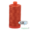 Aurifil Thread - Rusty Orange (2240) - 50wt 1422 yd