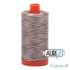 Aurifil Thread - Nutty Nougat Variegated (4667) - 50wt 1422 yd