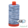 Aurifil Thread - Stonewash Blues Variegated (4669) - 50wt 1422 yd