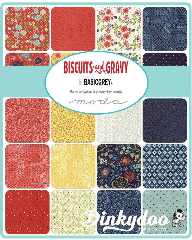 Biscuits And Gravy Jelly Roll Basicgrey Moda