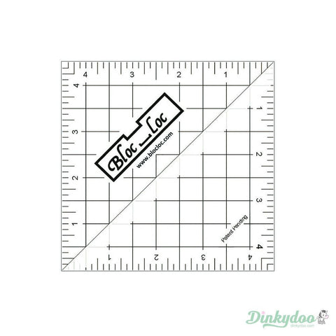 Bloc Loc Flying Geese Ruler Set 3~2x 4 3x 6