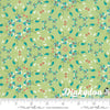 Coledale - Floral Wreath Green 47520-12- Quilt Jane - Moda