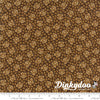 Heritage 10th Anniversary - Bloom Brown 46005-16 - Howard Marcus - Moda