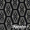 Cotton + Steel Black & White 2017 Lantern Black 5122-01 (1/4 Yard) (Pre-Order: 03/17)