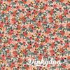 Les Fleurs - Rosa Peach - Rifle Paper Co - Cotton + Steel (1/4 Yard) - Dinkydoo Fabrics