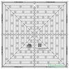 "Creative Grids - 12.5"" Square it Up or Fussy Cut Quilt Ruler"
