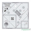 "Creative Grids - Square on Square Trim Tool 3"" or 6"" Finished"