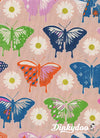 Flutter - Butterflies Peach - Melody Miller - Cotton + Steel