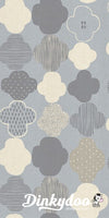 Newsprint - Numo in Neutral Unbleached Cotton Fabric - Cotton + Steel