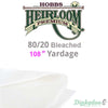 Hobbs Heirloom 80/20 Bleached - 108""